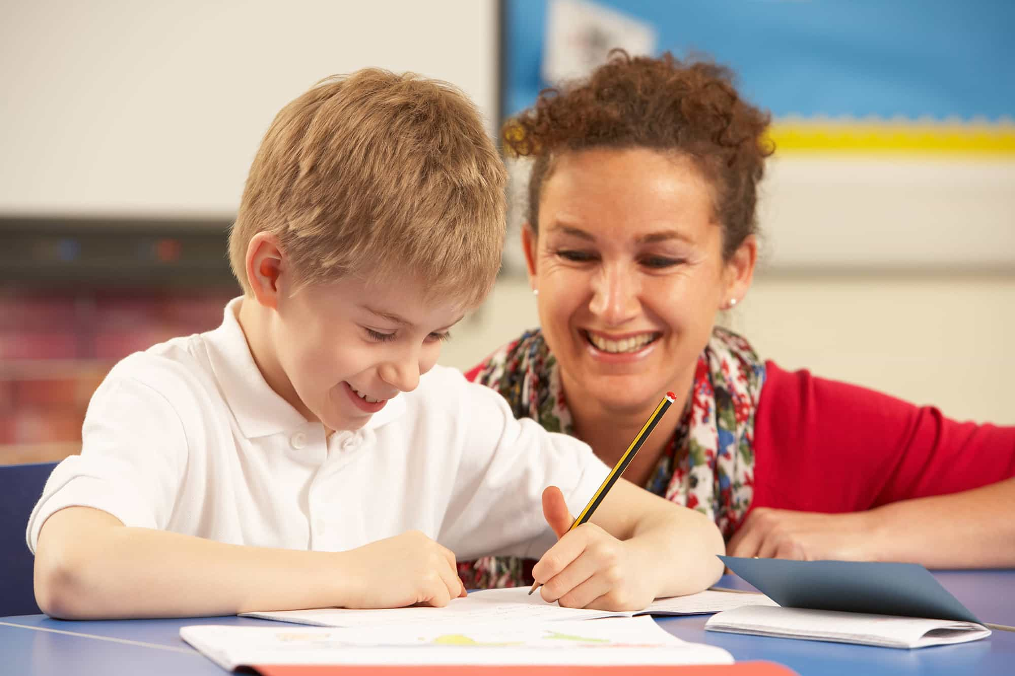 Volunteer in school with numeracy using creative activities to help primary school child gain skills and confidence in maths.